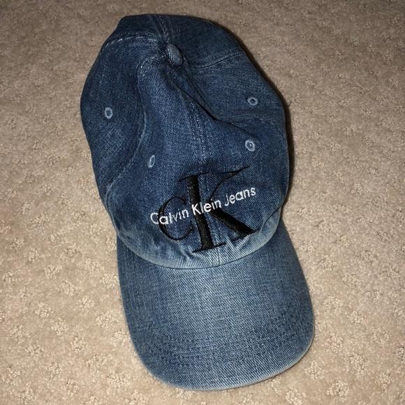 Calvin Klein Jeans Accessories - Urban outfitter Calvin Klein denim hat 3b6e9fa111c